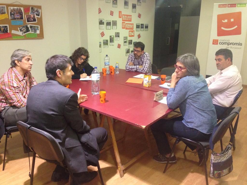 Tennis de Taula, Esport, Grup Compromís, Burjassot, Política
