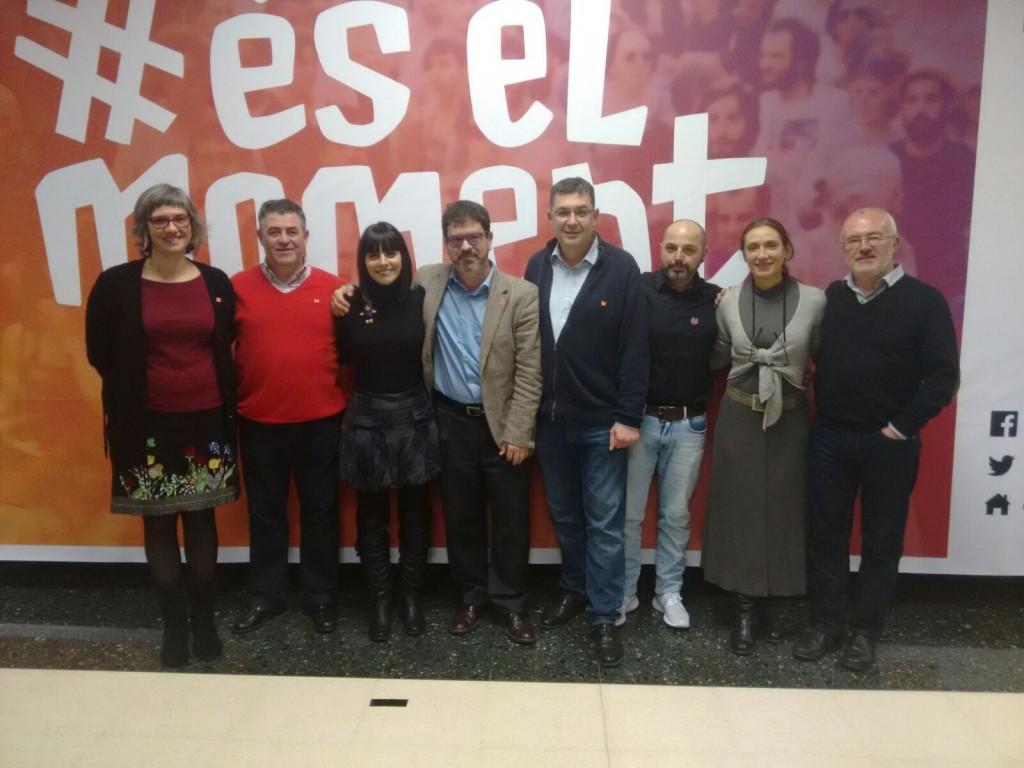 Acte comarcal, #éselmoment, Grup Compromís, Burjassot, Política